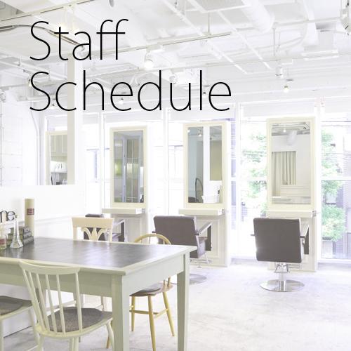 Staff Schedule